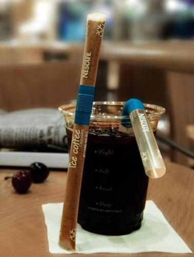 Hier sollte ein tolles Bild von einer innovativen Instant-Kaffee-Verpackung sein